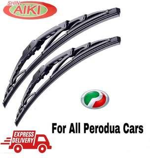 Ready Stock Shin AIKI Super Series Car Wiper One Set (2pcs)