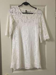 LACE DRESS H&M
