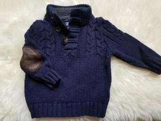 Baby Gap size 12 to 18 months sweater with elbow patches. Excellent condition. Pick up Gerrard and Main for $12 or $13 Yorkville. See my other postings. Sale discount 10% off with purchase of any winter