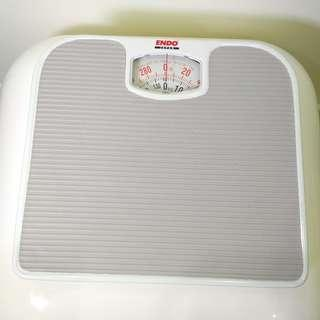 Endo Japan Body / Weighing Scale E-BS2016, Used, Gray