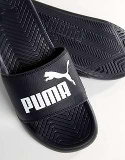 Puma Popcat Sliders in Black 36026510