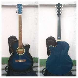 電木吉他Guitar Toyama 40吋 japan design結它 ,hand made guitar