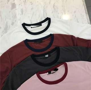 [po] basic colour contrast tee