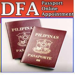 online passport appointment assistance