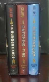 The Hunger Games Trilogy (boxed set-hardbound)