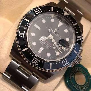 Rolex Sea Dweller SD43 Red- 126600