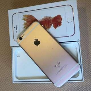 🚚 IPhone 6S 64gb gb rose gold
