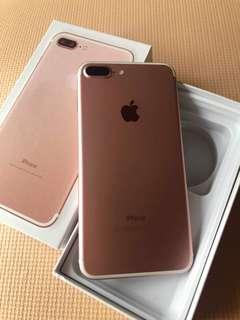 🚚 IPhone 7 plus 128gb rose gold