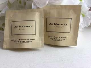 Jo Malone Samples