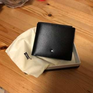 BNIB Mont Blanc Meisterstuck 10CC leather wallet with coin case