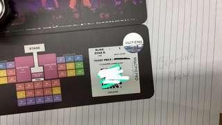 BlackPink 2019 Concert Ticket (Blink Zone)