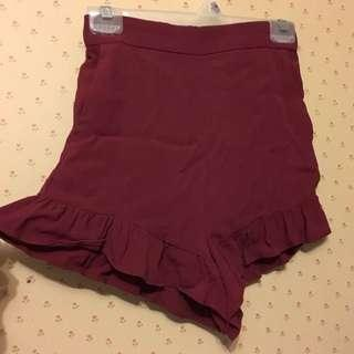 H&M high waisted float shorts