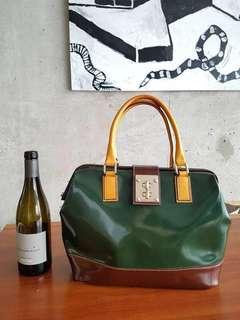 Italian designer leather bag