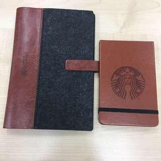 Limited Edition Starbucks Card Album & Notepad