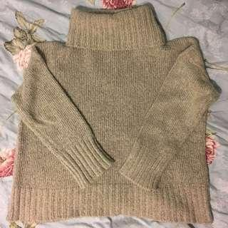 Turtleneck sweater-M