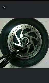 Minimotors 800w + tyre