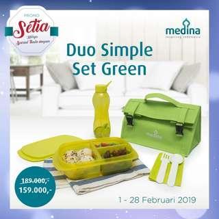 Duo simple set Green