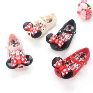 🚚 Minnie Design Comfortable Jelly Shoe (NSS 010)