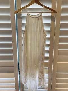 White dress size L