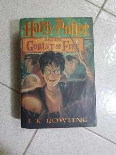 Scholastic Harry Potter and the Goblet of Fire Hardbound