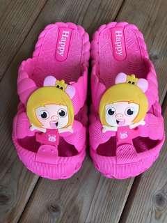 🚚 兒童拖鞋 內長15.5公分