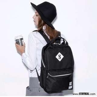🚚 Stayreal Black Backpack