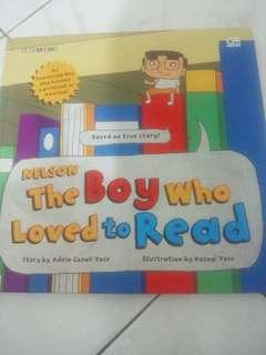 Nelson The Boy Who Love to Read