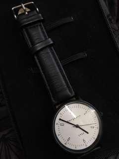 Bergmann 1933 手錶 腕錶 black watch 簡約斯文 文青款