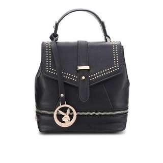 PLAYBOY BUNNY Women Backpack leather