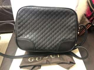 🚚 Gucci Soho disco 黑色壓紋斜背包 相機包