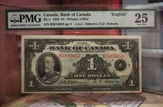 1935年加拿大銀行$1