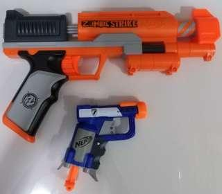 NERF ZS clearshot and jolts every color