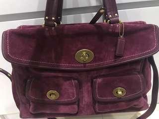 Coach business bag - fall colour