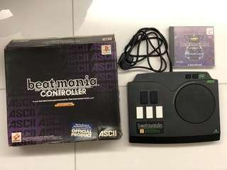 Playstation Beat Mania game連打碟control