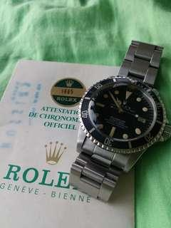 Vintage Rolex 1665 with paper