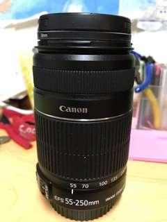 Canon EFS 55-250mm f4-5.6 IS