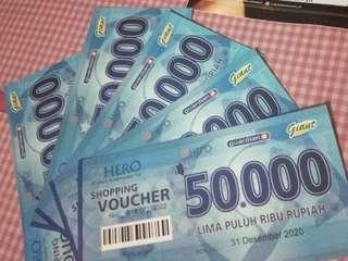 Voucher belanja guardian/hero/giant