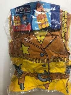 Kid Cowboy costume 小朋友 西部牛仔衫 表演服裝