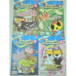 Smart Mathematicians (Upper Primary)- 2018 Issue (Issue 22 till issue Issue 29)
