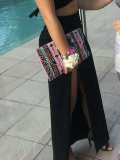 Beaded clutch - one of a kind