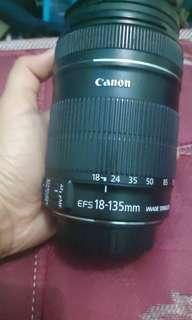 Lensa Canon 18-135mm