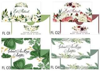 Sampul Raya Floral 2019