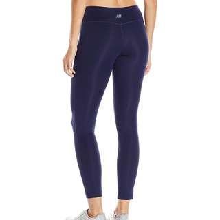 New Balance tights leggings, Navy blue