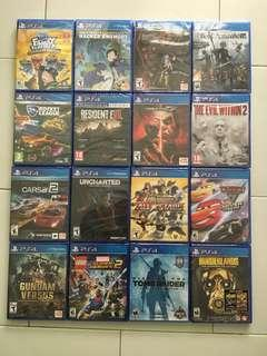 🚚 PS4 Games Bundle Deal Spring 2019 Sale *Any 3 Games For $95 (All Brand New Sealed Games)