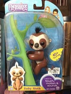 Original Fingerlings Baby Sloth, 25% off