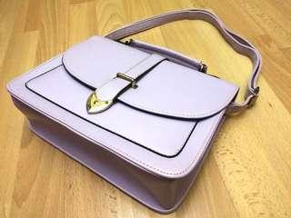 🚚 Pastel Purple Satchel Bag