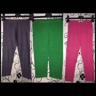 Branded leggings bundle for 6-7T