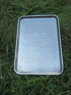 Stainless steel tray 41 x 59 cm