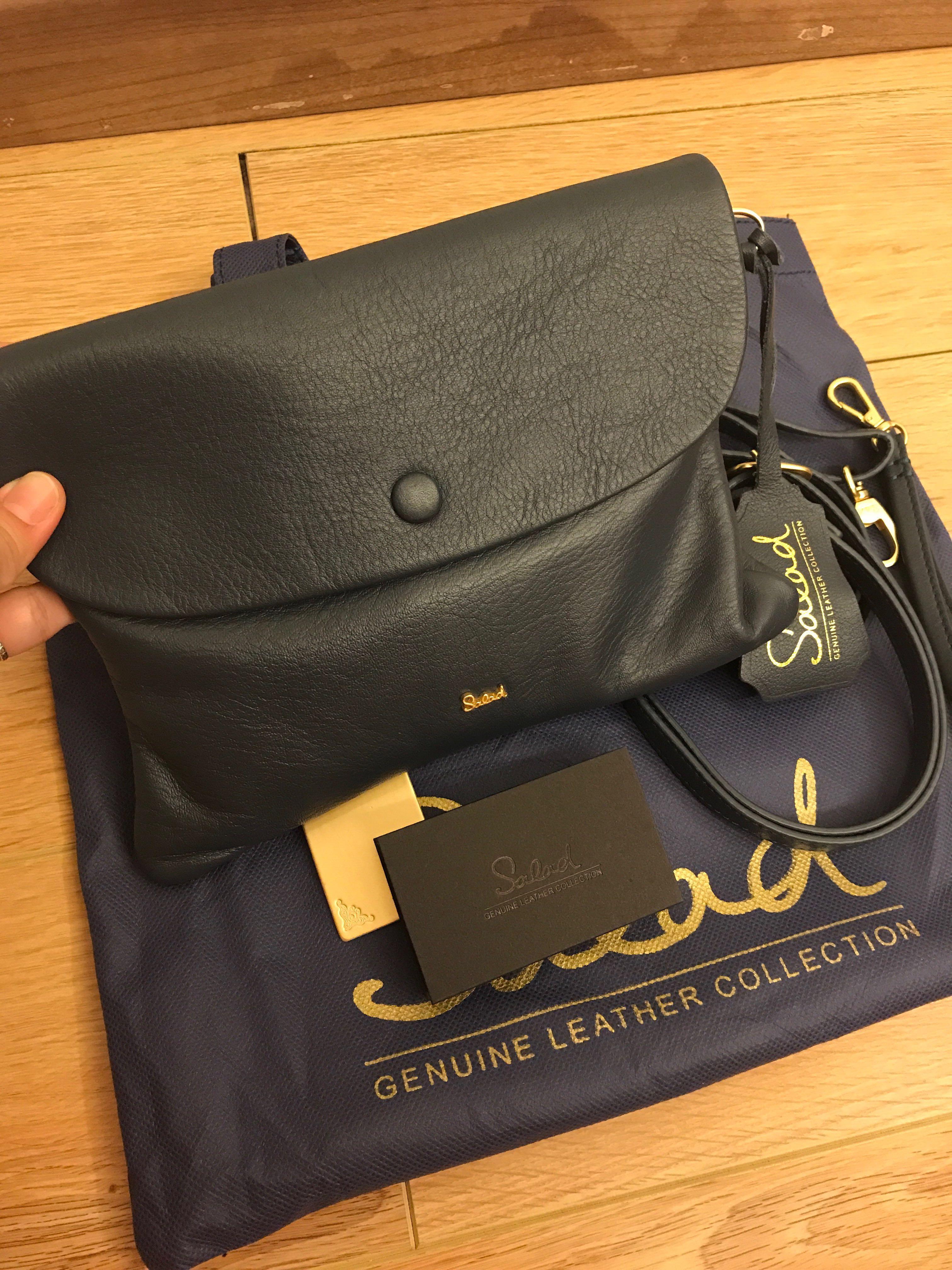 09af067c362d 100% authentic salad genuine leather bag for let go!!