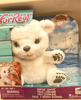 Fur Real Sniffin Sawyer Polar Bear